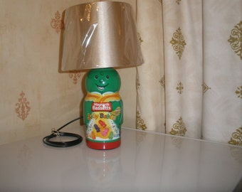 Green Jelly Baby Lamp