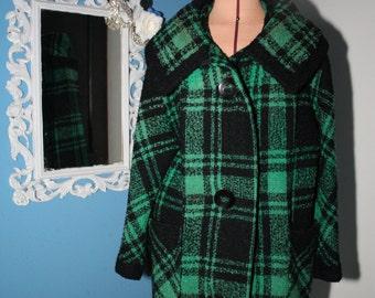 Vintage 1960s Thick Cotton Saks Fifth Avenue Coat