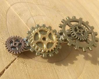 Steampunk Hair Clips/ Steampunk Jewellery