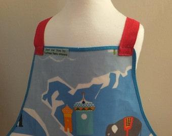 Child's pvc apron
