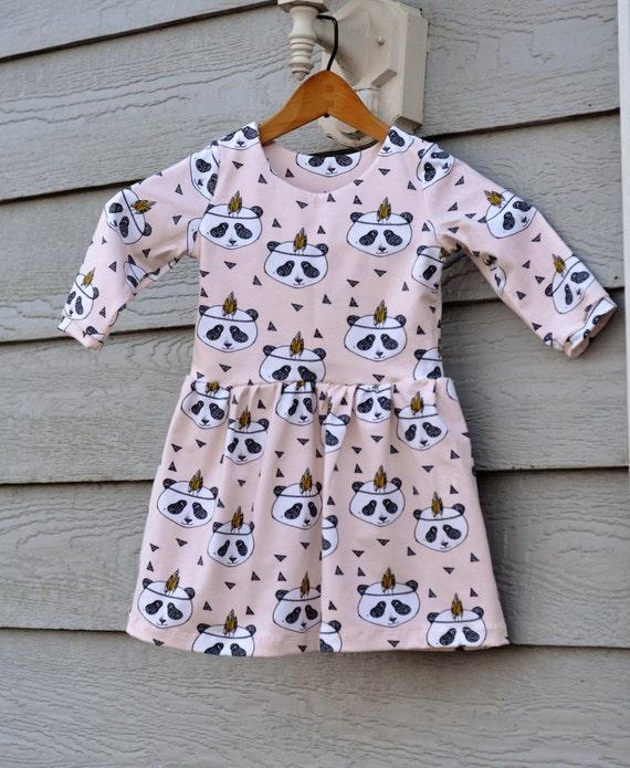 Pink Panda Dress