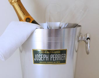 French vintage champagne bucket - Joseph Perrier
