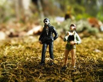 Leon The Professional - Jean Reno - Natalie Portman - Cult Original Art Miniatures