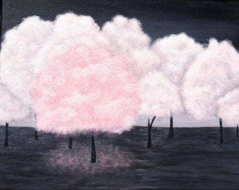 Cotton Candy Trees