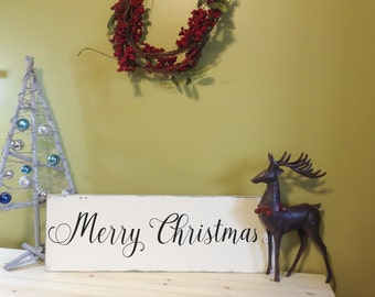 Merry Christmas Sign, Christmas Decor, Christmas Gift, Christmas Decoration
