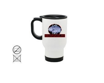 Brainasium Ceramic and Stainless Steel Mug