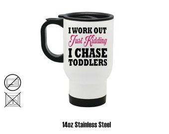 I Chase Toddlers 15oz Ceramic Coffee Mug