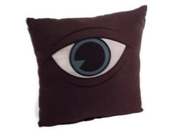Blue Eye Pillow
