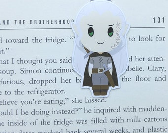 Rowan - Magnetic bookmark - Rowan Whitethorn || throne of glass | bookmark | book lover gifts | bookmarks | bookish | magnetic bookmarks
