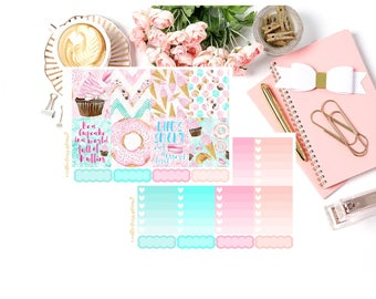 Cupcake Mama Planner Stickers