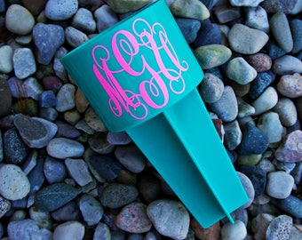 Monogrammed / Personalized Beach Spike - Sand Spike - Lilly Pulitzer Inspired