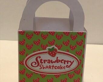 Strawberry Shortcake mini favor box