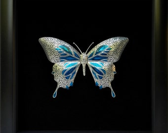King Butterfly - handmade