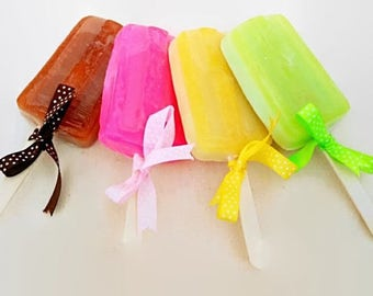 "Handmade aromatic soap ""Colorful lollipops"" - Decorative soaps -"