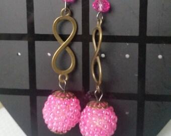 Earrings infinity