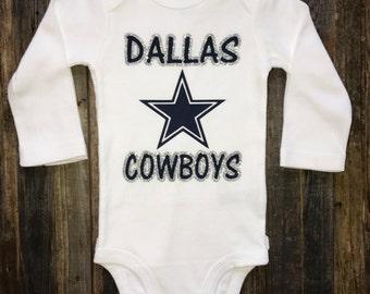Girl Dallas Cowboys Onesie