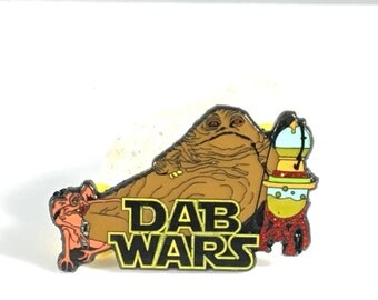 Dabbing,Dab Wars,hat pin,dabs,710,420,Jabba,the hut,star,wars,LE100