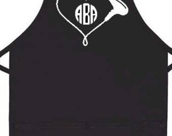 Custom Hair Dresser Beautician Apron/Hair dresser/Hair Stylist/apron/Hair Cutting/Beautician apron/work apron/Personalized Apron