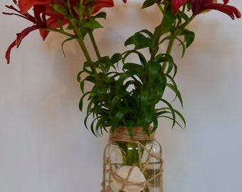 Shell Vase for flowers and plants