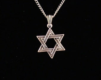 Antique Silver Star of David
