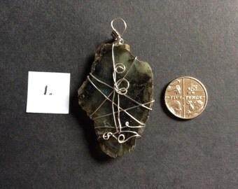 Large Labradorite Pendant