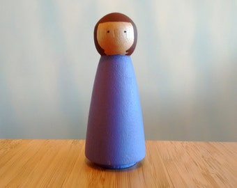 Peg Doll, Rainbow Peg Doll, Peg dolls, Peg People, Wooden Peg Dolls, Baby Toys, Wooden Dolls, Montessori, Toddler Gift, Doll