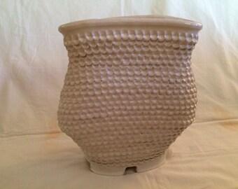 White Single Spout Vase