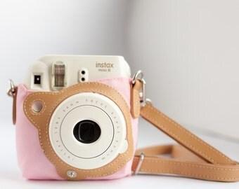 Fujifilm Instax Mini 8 Case with Strap / Instax Camera Case Pouch / Protective Case for Instax Mini 8 photo camera.