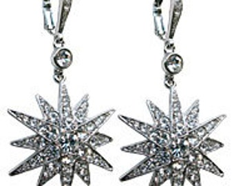 Jennifer Anisston Inspired Star Burst Earrings