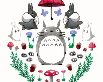 Totoro – Print
