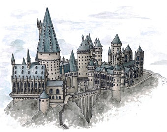Hogwarts – Print
