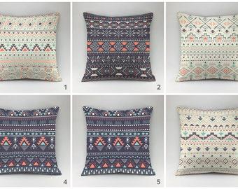 Indian pillow Ethnic pillow Boho pillow cover Decorative pillow Throw pillow case hippie cushions boho chic cushion case hippie pillow