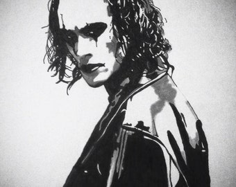 The Crow - Brandon Lee (Original Artwork)