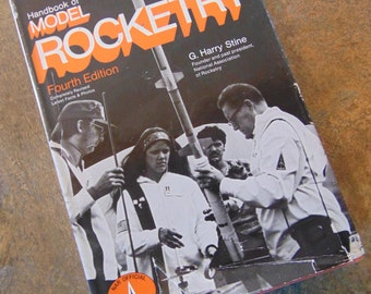 Handbook of Model Rocketry ,  G. Harry Stine  ,  1976 , Model Rocketry Book