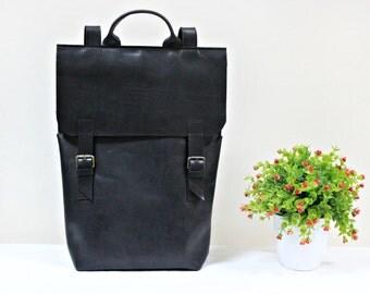 Rucksack Handbags Black Backpack College Backpack Minimalist Backpack School Backpack Laptop Backpack Minimalist Rucksack Leather Rucksack