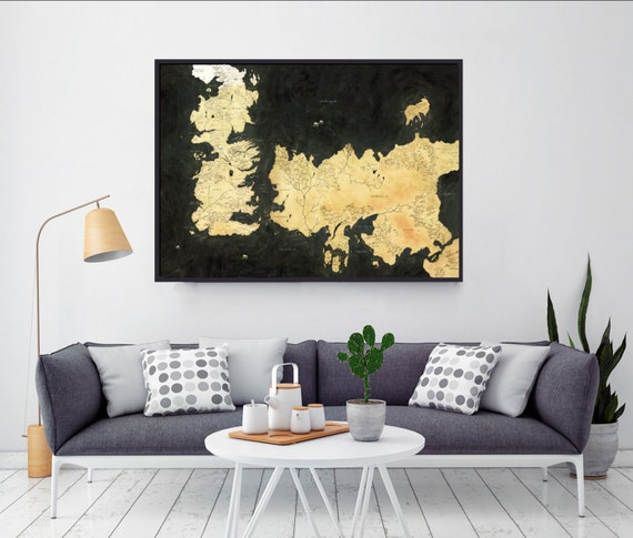 Westeros Map Map Of Essos Game Of Thrones Game by