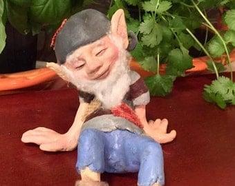 Handmade Elf Art Doll