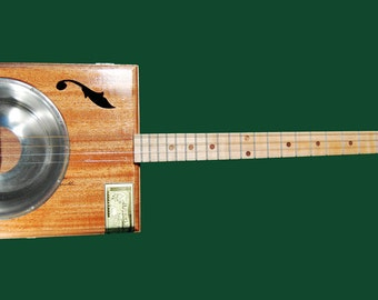 Cigar Box Resonator Guitar