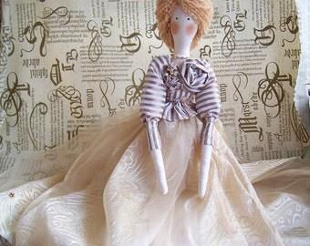 Handmade Tilda doll  Cinderella