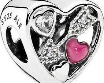 Pandora Charms Authentic Pandora Love Struck Charm Bead 2017 Valentine