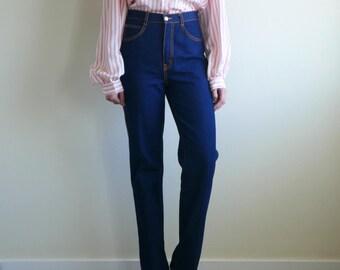 GITANO 80s Regular Fit Straight Leg Jeans Denim Pants