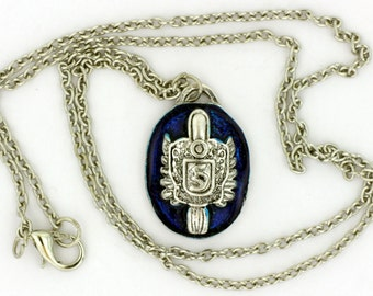 Stefan Salvatore's Signet Necklace or Keychain Vampire Diaries