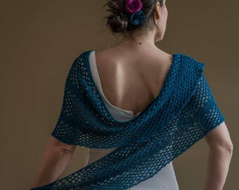 Elena Shawl Knitting Pattern