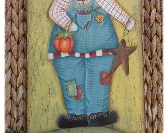 E-pattern Joyful scarecrow