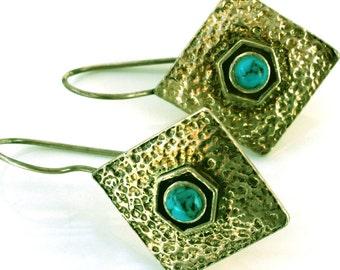 925 silver earrings handmade in Israel