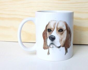 Beagle tazas/mug, diseño original unico, ilustraciones, tazas ilustradas, edición limitada
