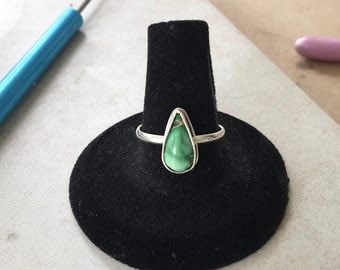 Mountain Turquoise Silver Ring