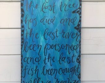 Quote Painting - 20x10
