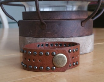 Arm Cuff Made from Vegan Friendly Leather