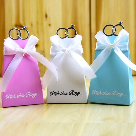 Wedding ring favors wedding decor ideas 100 engagement favor boxesdiy with this ring wedding favor solutioingenieria Images